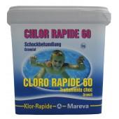 REVA  KLOR RAPID 60  CLORO RAPIDO KG. 5