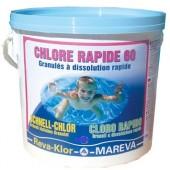 REVA  KLOR RAPID 60  CLORO RAPIDO KG.25